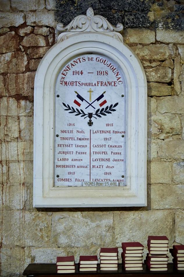 Goujounac, église