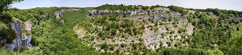 Gramat / Rocamadour, canyon de l'Alzou