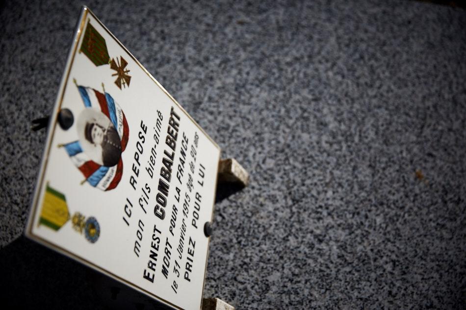 Canonnier au 57°RAC, mort à Toulouse des suites de maladie contractée en service