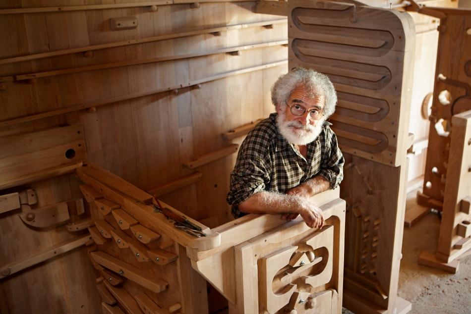 Michel Zachariou, sculpteur, 2008