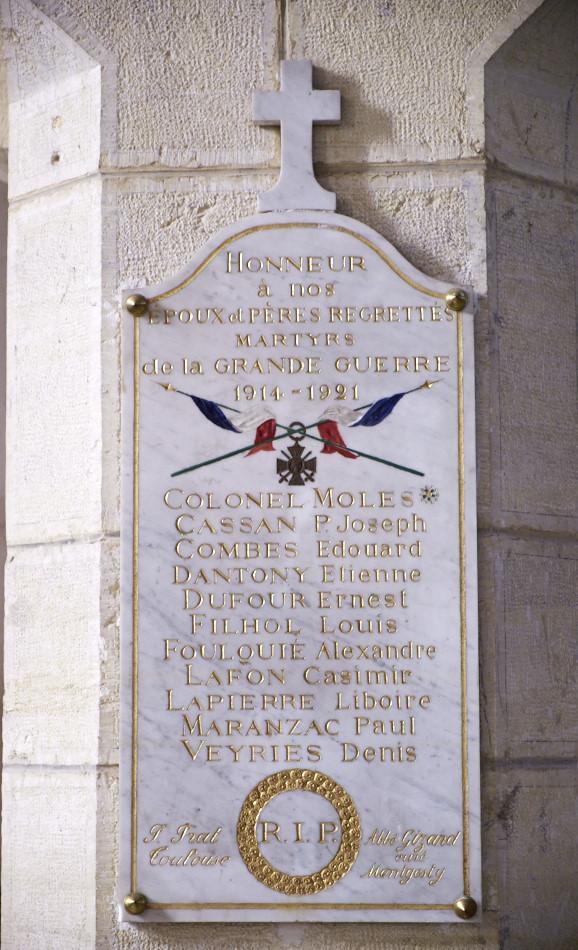 Montgesty, église