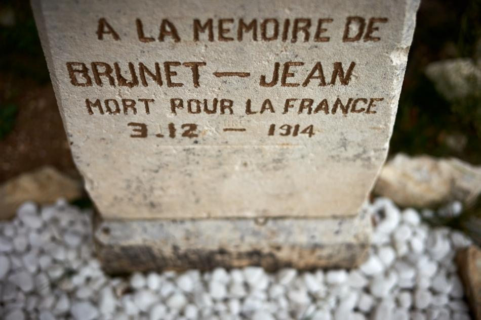 Parnac, tué à l'ennemi à la Tête de Faux en Alsace