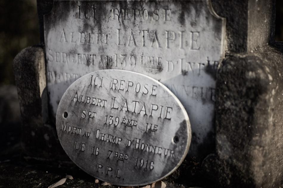 Sonac, Albert effectue son service au 139°RI depuis octobre 1913, caporal le 8 août 15, sergent le 21 mars 16, tué dans la Somme le 16 septembre 1916.