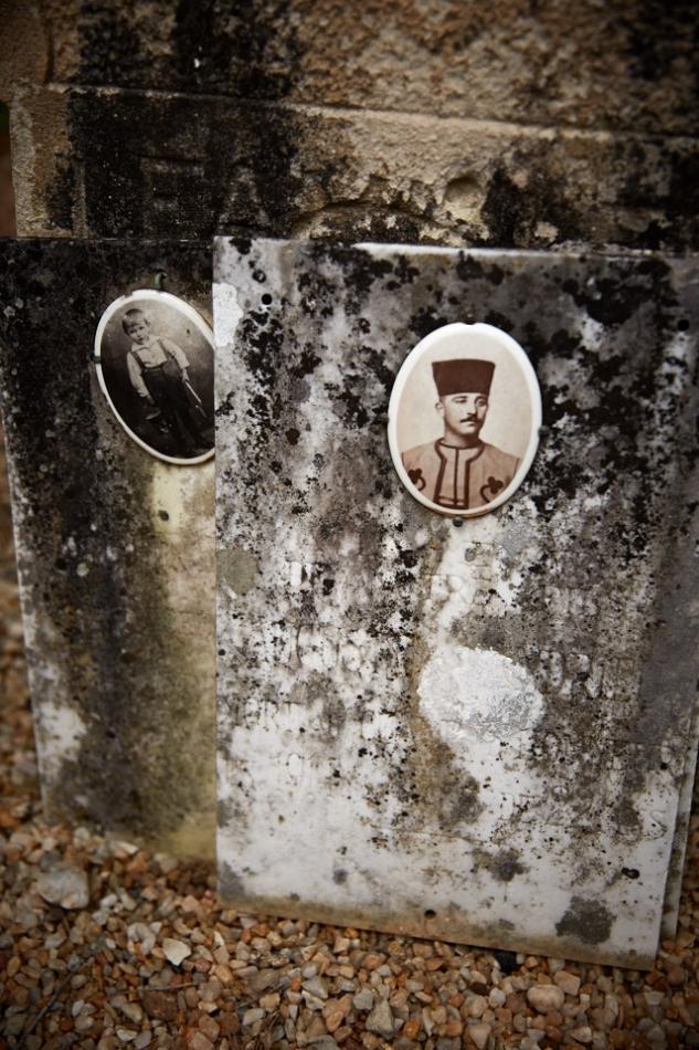 Caillac, Auguste Andrieu, maçon, il est déjà au 2° tirailleur Algérien à la déclaration de guerre, tué à Crouy-en-Thelle le 14 septembre 1914