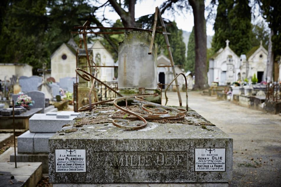 Cahors, cimetière de la ville