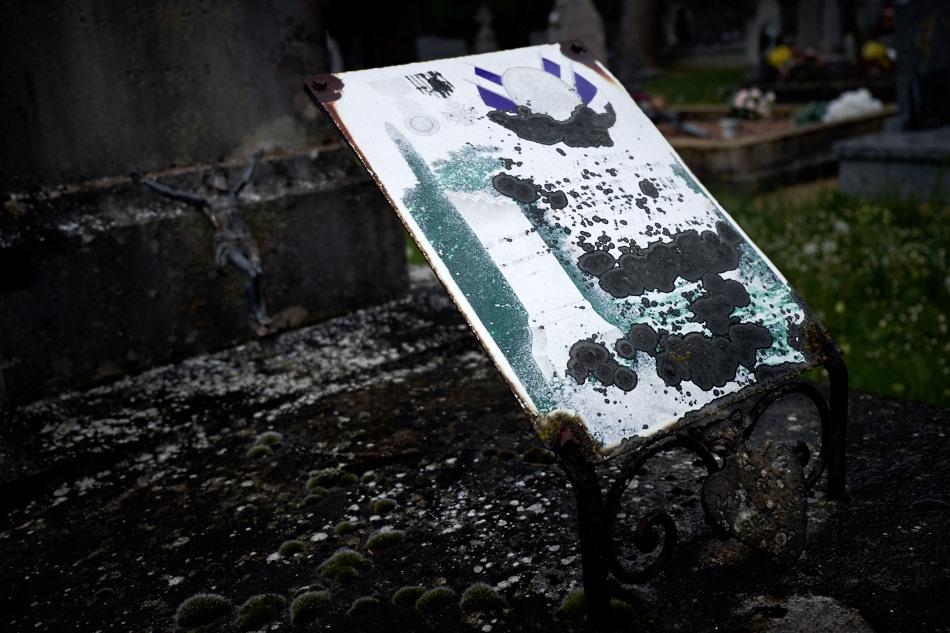 Cimetière de Saint Chignes, 29 ans, artilleur, mort pour la France le 17 mai 1918 dans l'Oise.