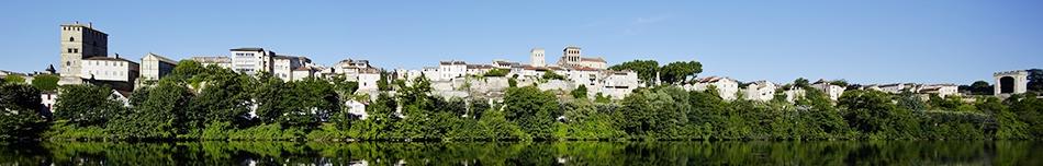 Cahors, Lot, du port Bullier à la Barbacane
